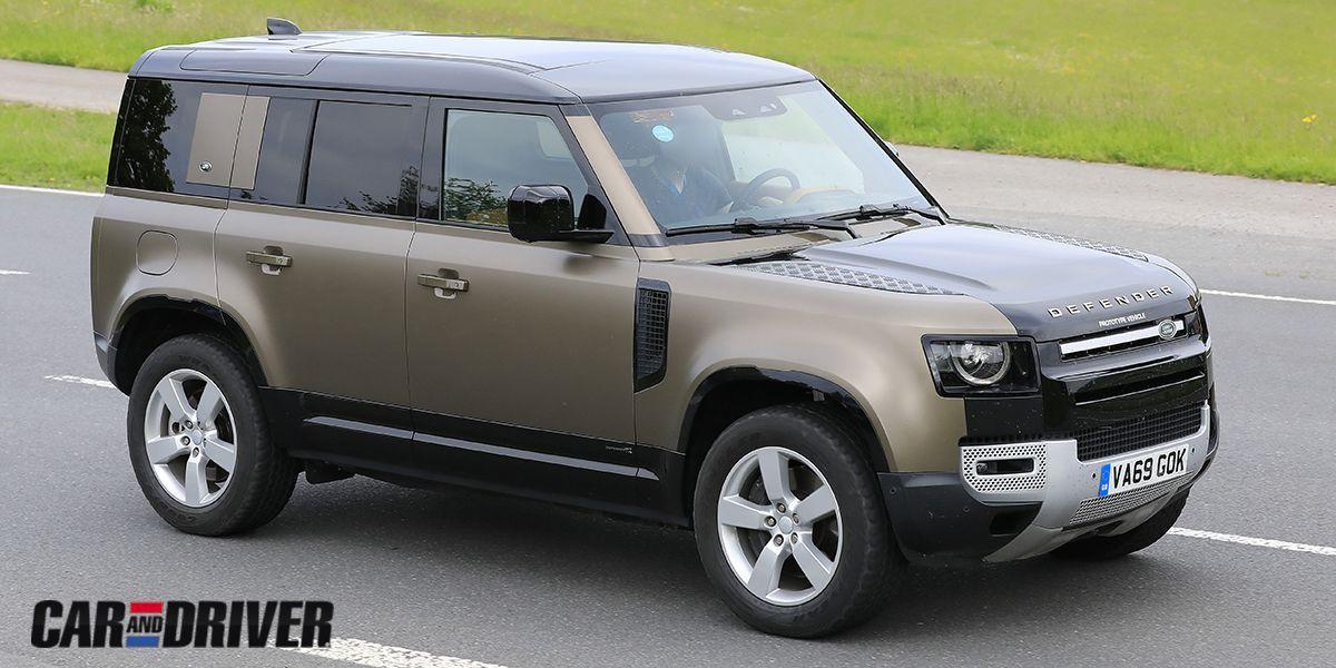 Land Rover Defender V8 2021: El más potente de la historia ...