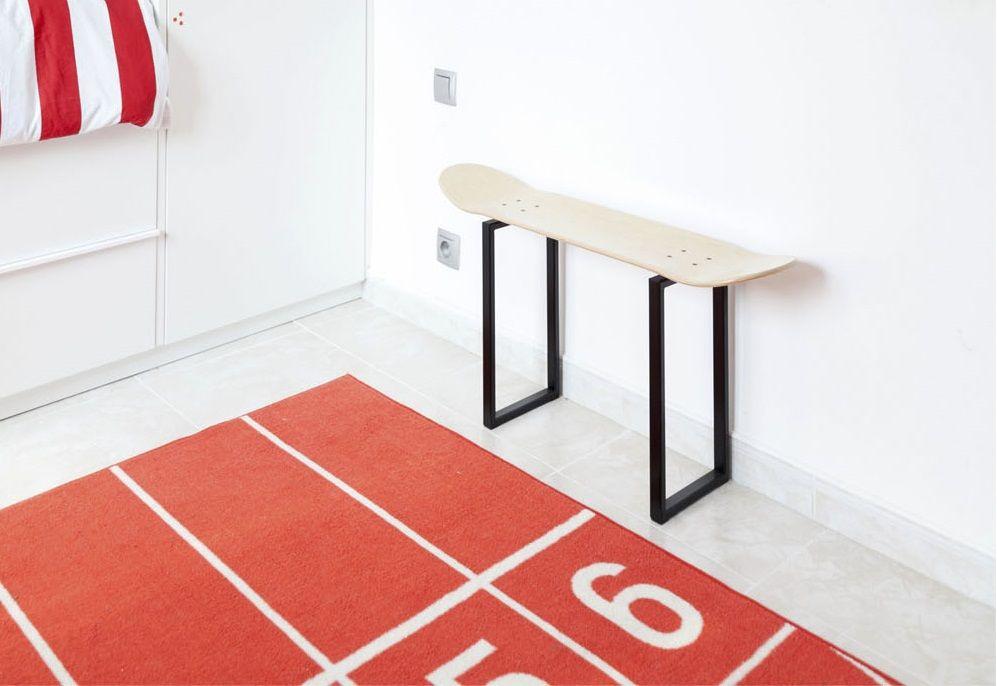 Skateboard hocker. Original möbel - Dekoration für ein Zimmer ...