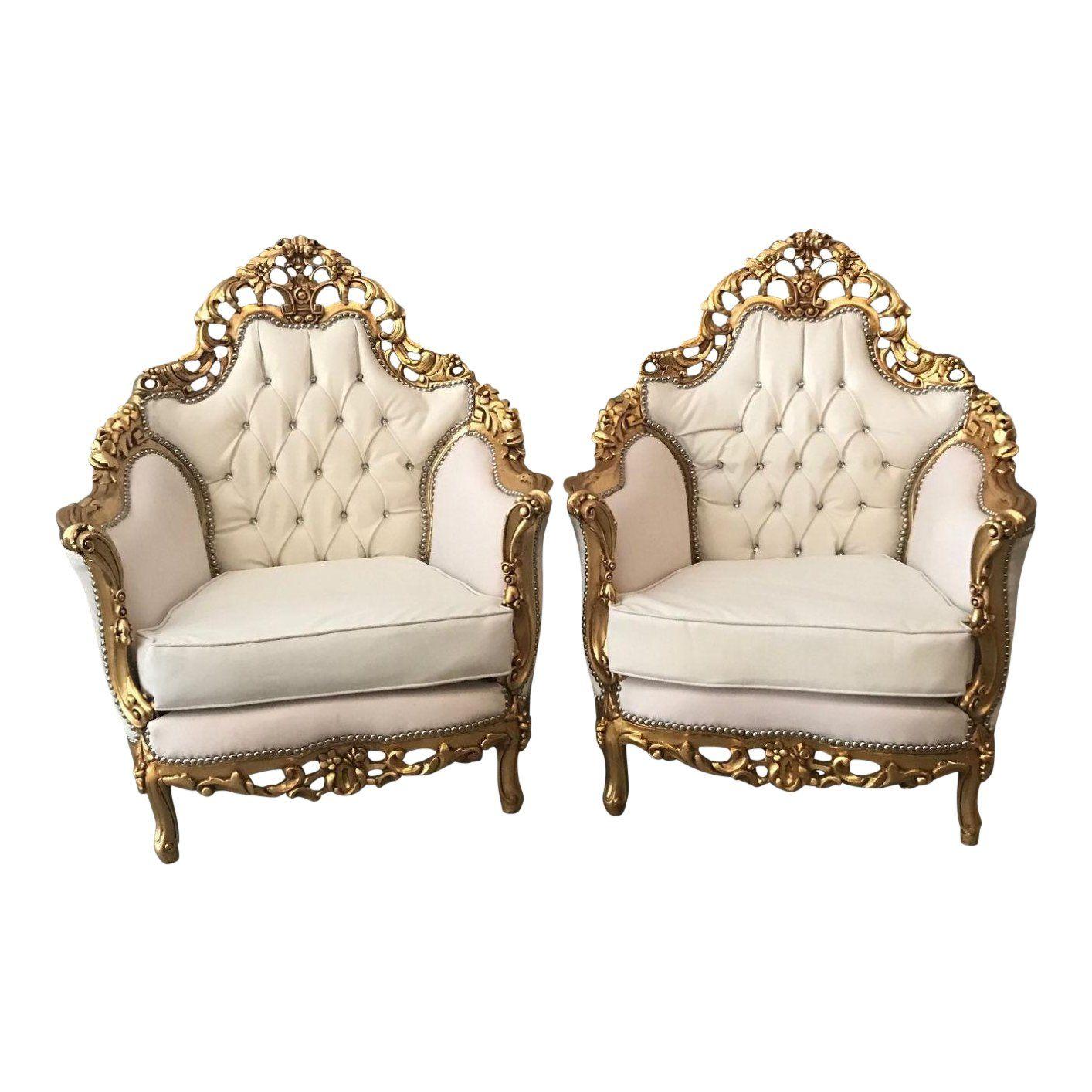 Antique Italian Rococo Single One Chair Chairish