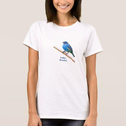 Indigo Bunting (version 2) T-Shirt