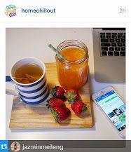 Another happy customer enjoying her tea with one of our #mugs! #breakfast #tea #homechillout