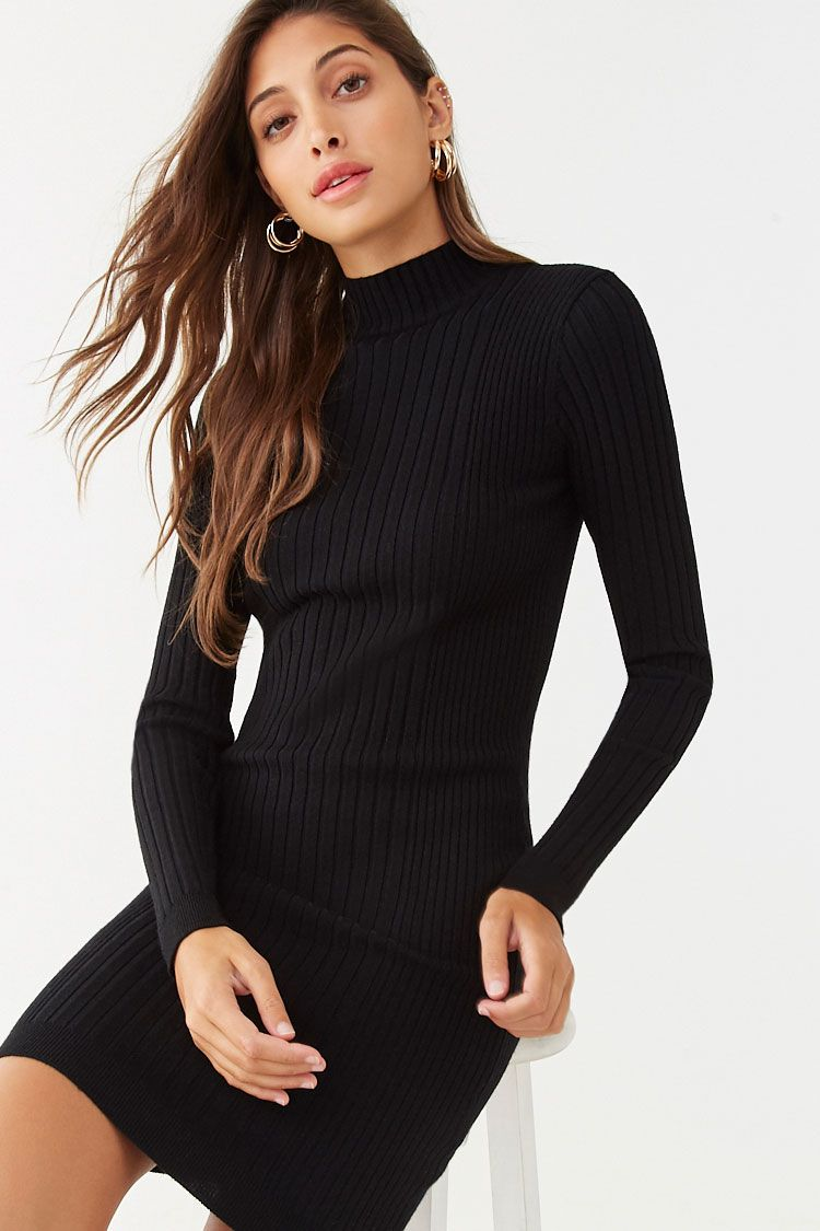 Ribbed Sweater Dress Forever 21 Ribbed Sweater Dress Sweater Dress Knit Sweater Dress [ 1125 x 750 Pixel ]