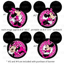 Afbeeldingsresultaat voor free minnie mouse printables