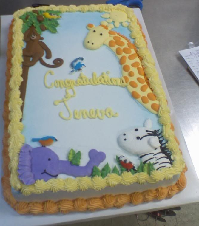 Jungle Baby Shower Cake Photo This Photo Was Uploaded By