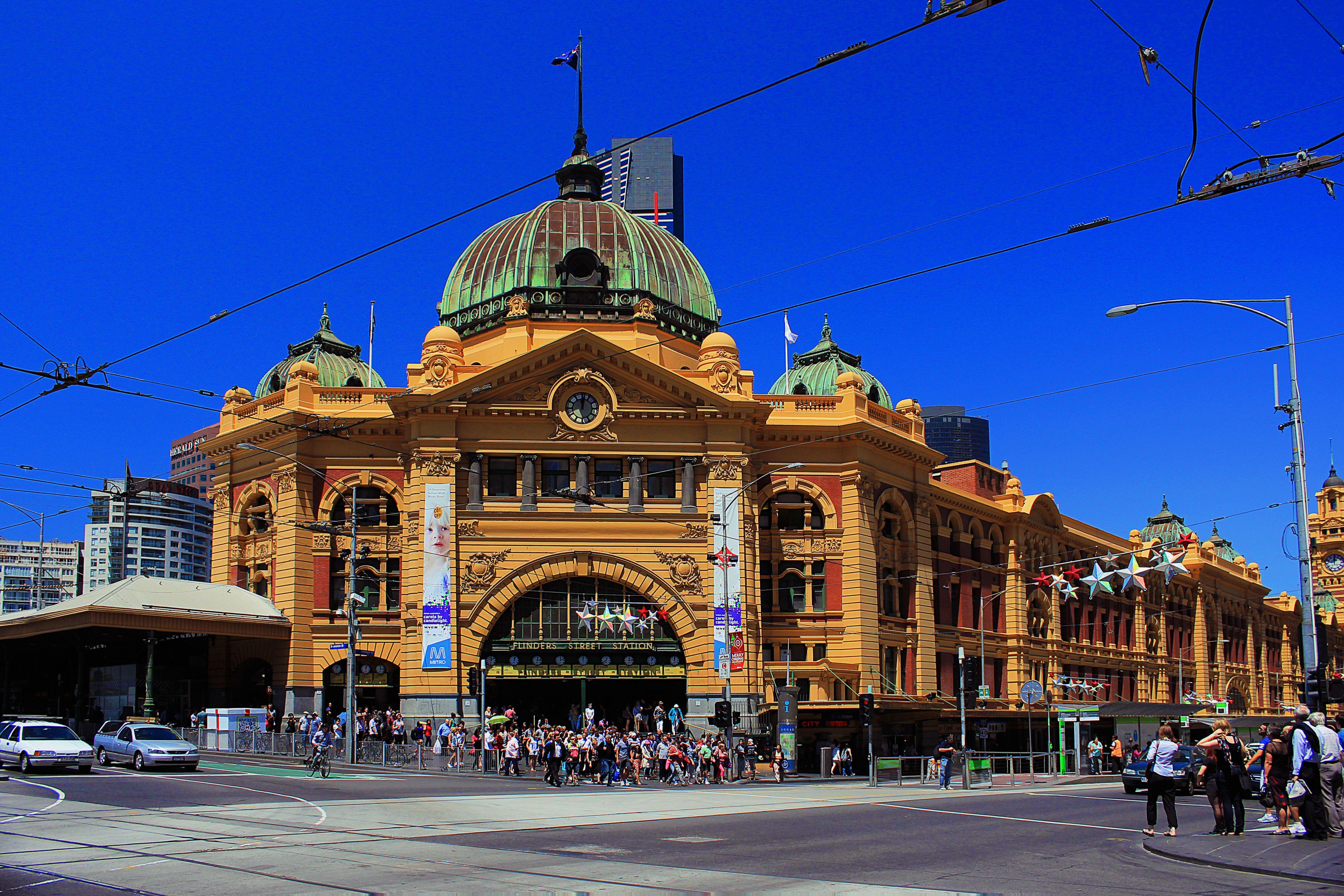 Flinders Street Station, Melbourne - Australia.  #Flinders Street #Melbourne #Australia