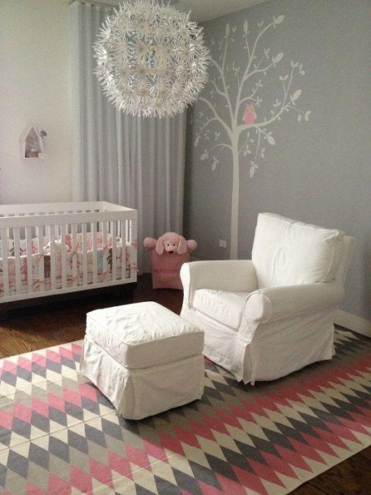 chambre bebe rose et gris fauteuil - Fauteuil Gris Pour Chambre