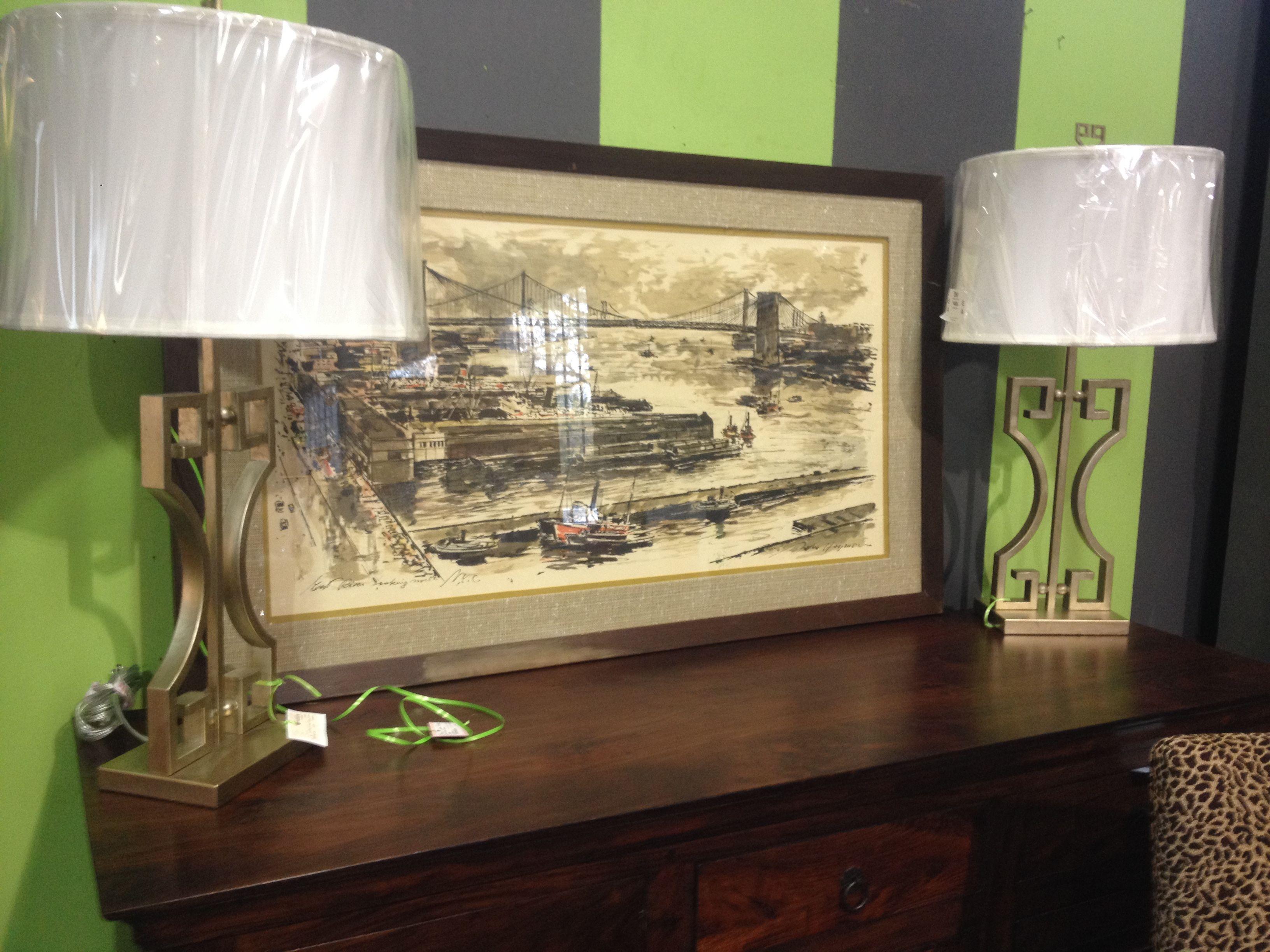 New lamps consignment furniture decor home decor