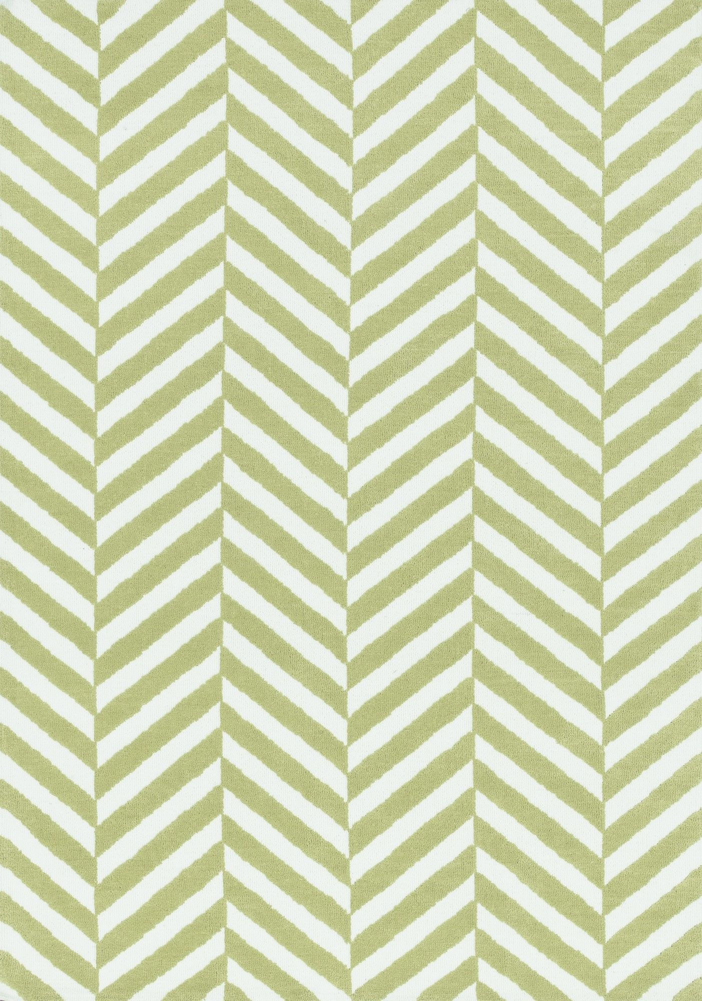 Piper Chevron Light Green White Area Rug Products