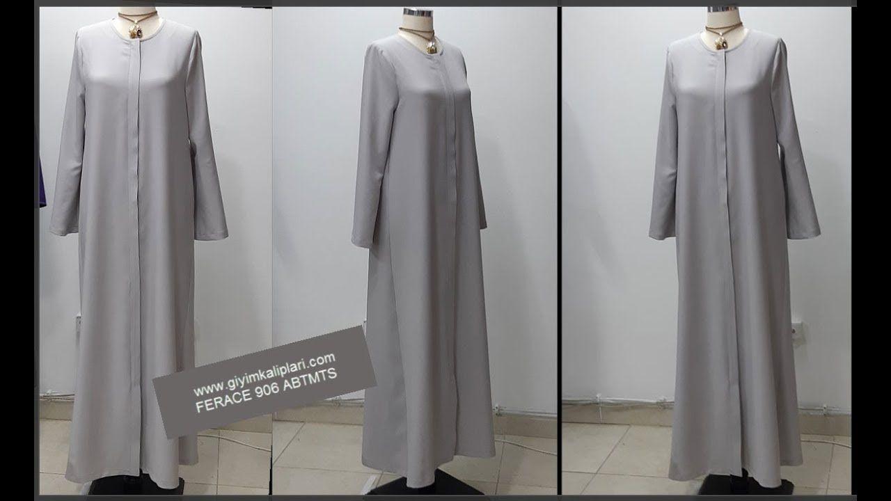 Ferace Kalibi Dikimi Provasiz Giyim Kaliplari Giyim Islami Giyim Elbise Dikis Rehberleri