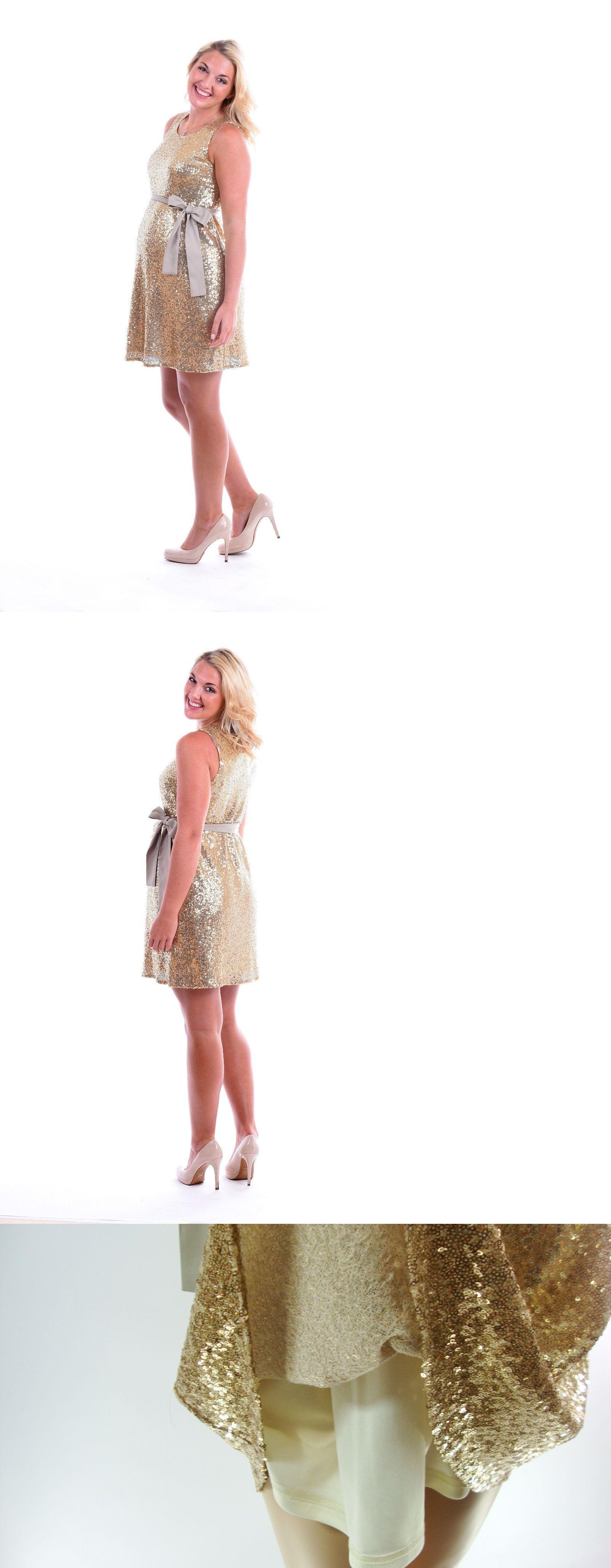 Dresses 11534 gold sleeveless sequin sexy babyshower maternity dresses 11534 gold sleeveless sequin sexy babyshower maternity dress sml ombrellifo Image collections