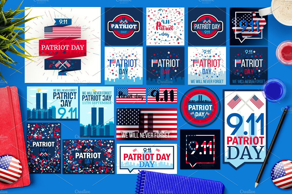 Patriot Day Banners Patriots Day Banner Banner Template