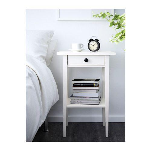 Ikea Hemnes Black Brown Nightstand Ablagetisch Nachttisch Grau