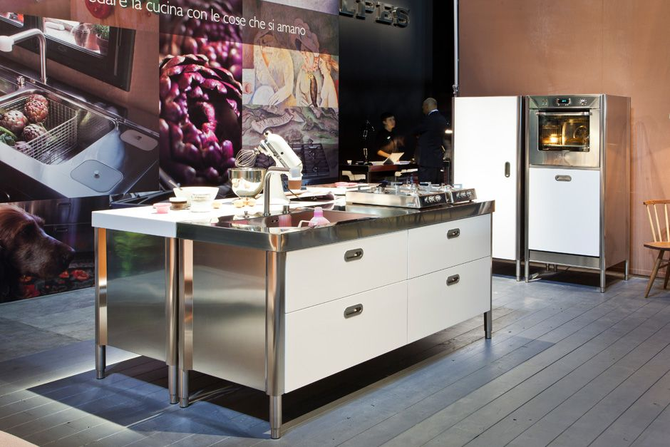 steel kitchens by alpes inox - Buscar con Google | Container casas ...