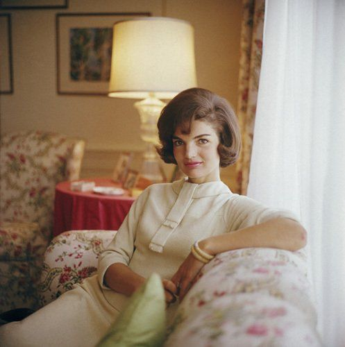 Jacqueline Kennedy, photo by Mark Shaw