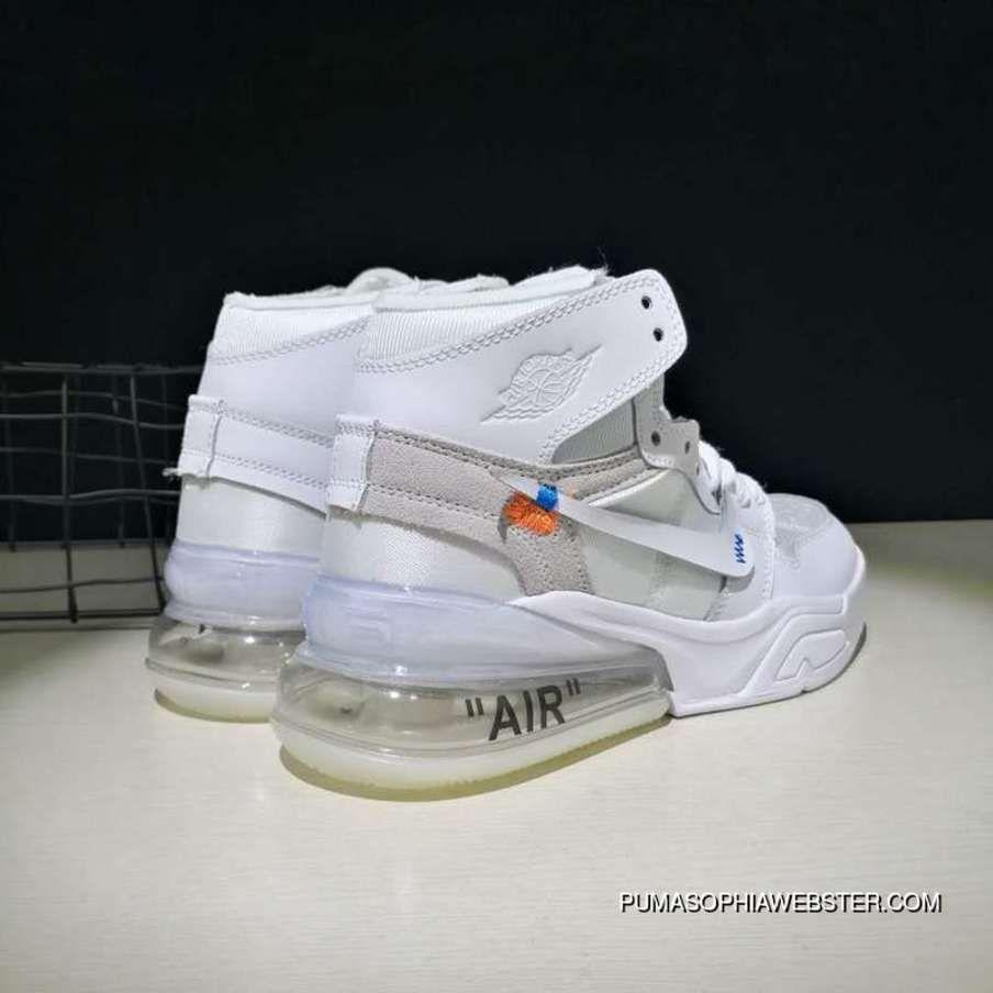 Off-White X Nike Air Jordan 270 White