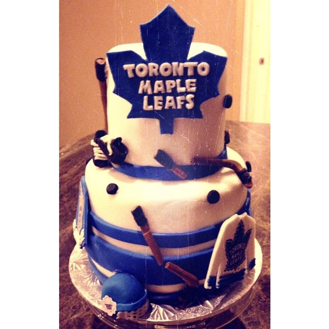 Mini cake grooms cake toronto maple leafs hockey cake hockey mini cake grooms cake toronto maple leafs hockey cake bookmarktalkfo Images