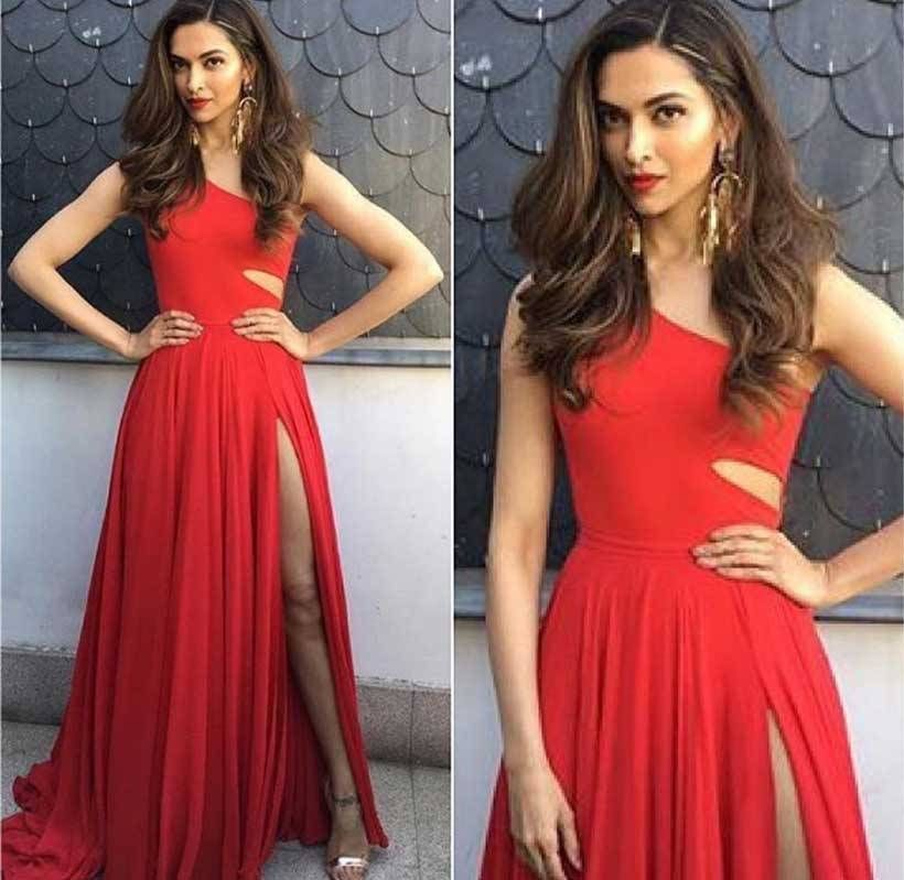 Actress Deepika Padukone is a goddess when it comes to slaying it on international red carpets, and she definitely didn't disappoint this time either. Looking stunning in red #PrabalGurung dress, paired with statement #OuthouseJewellery and #Italianluxury sandals by #GiuseppeZanottiDesign, Padukone really turned heads on Day 1 of IIFA 2016. #deepikapadukone #iifa2016 #xXx #hollywood #bollywood #sizzling #hot #celebrity