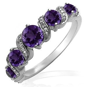 Kay Amethyst Ring White Gold Wedding Rings Pinterest