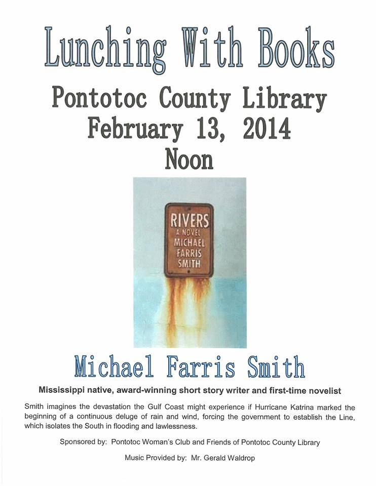 February 13, 2014 @ Noon - Lunching With Books @ Pontotoc County Library