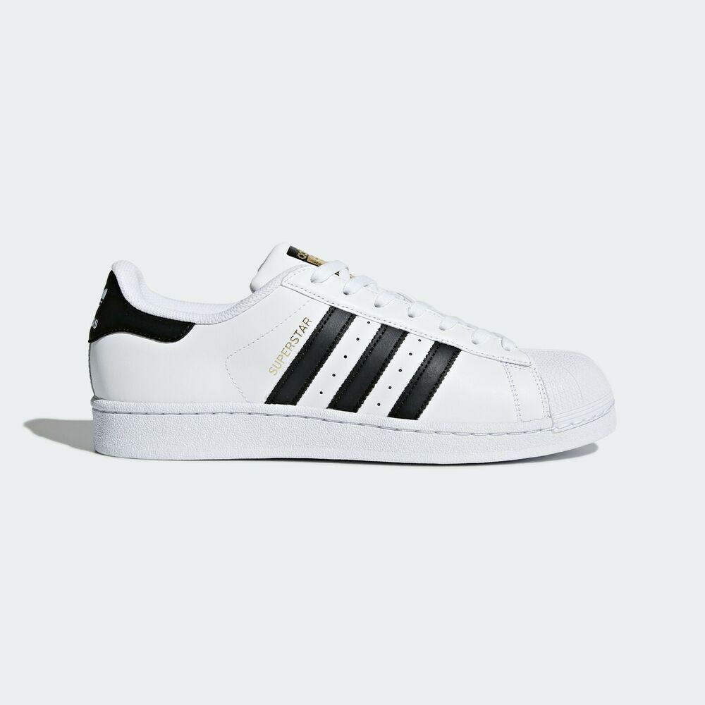Details about Adidas originals superstar mens sports shoes sneakers black white new show original title