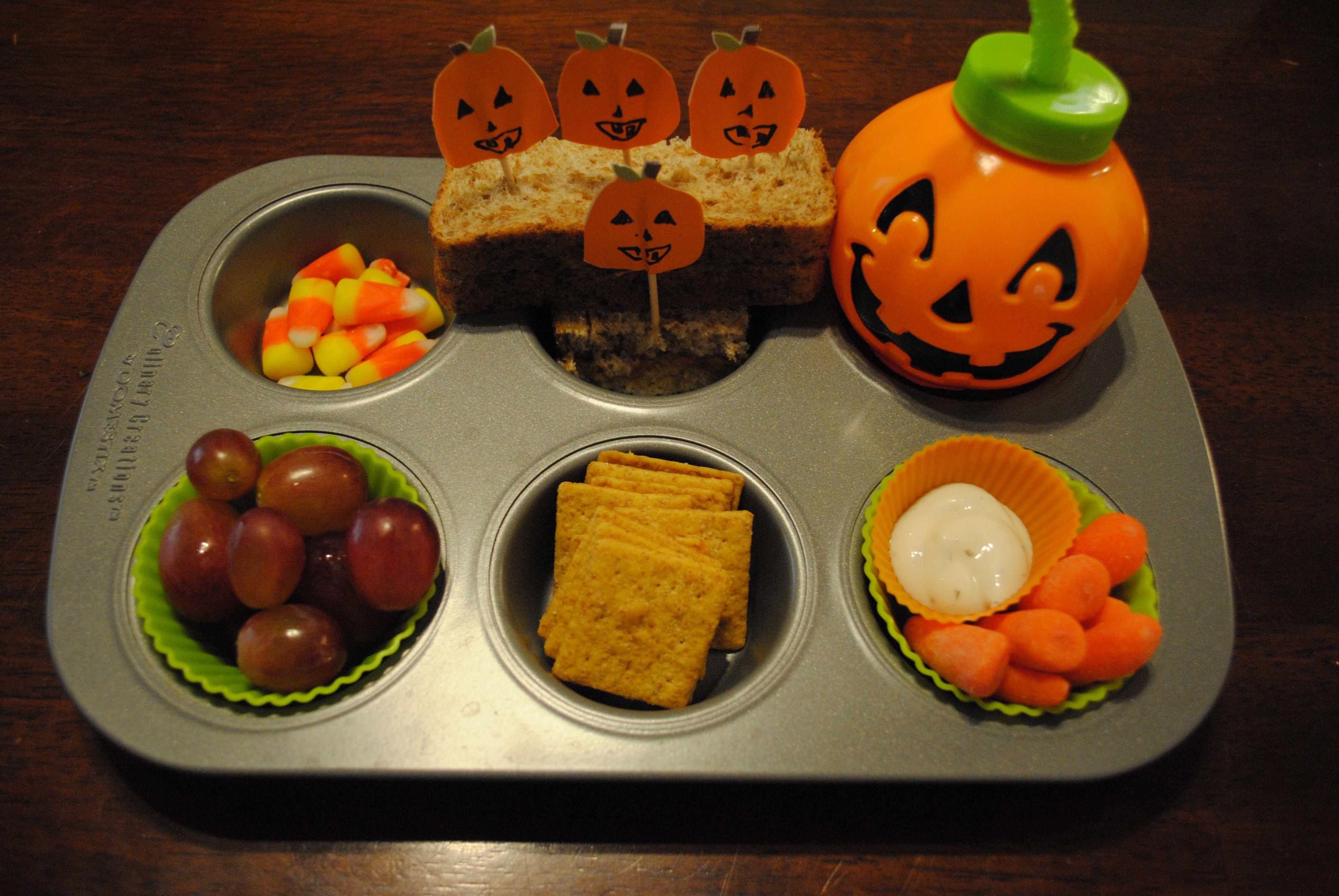 Muffin Tin Monday 5 Little Pumpkins