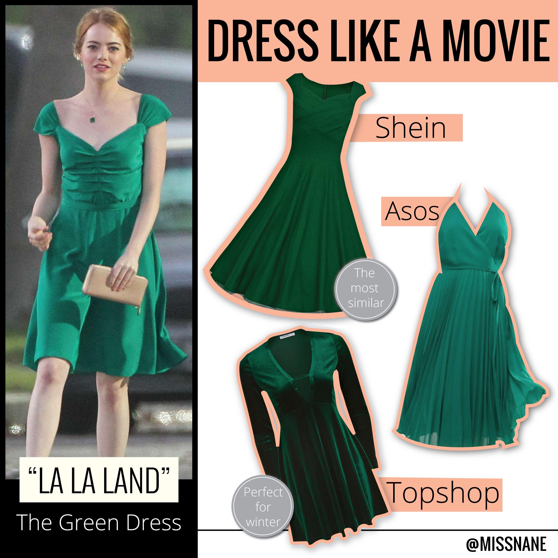 La La Land – The Green Dress  03d2bfb38e6b