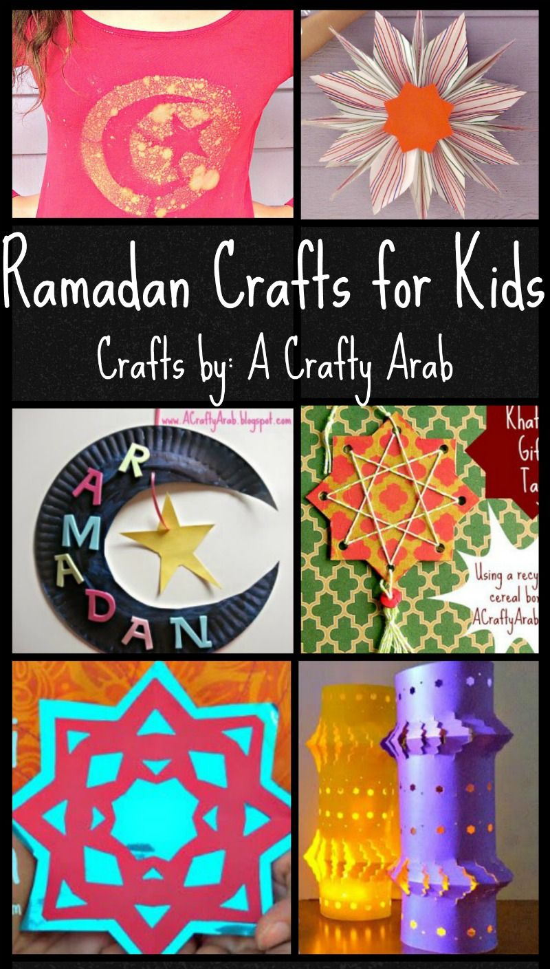 Ramadan Crafts For Kids Colorful And Fun Ideas From A Crafty Arab
