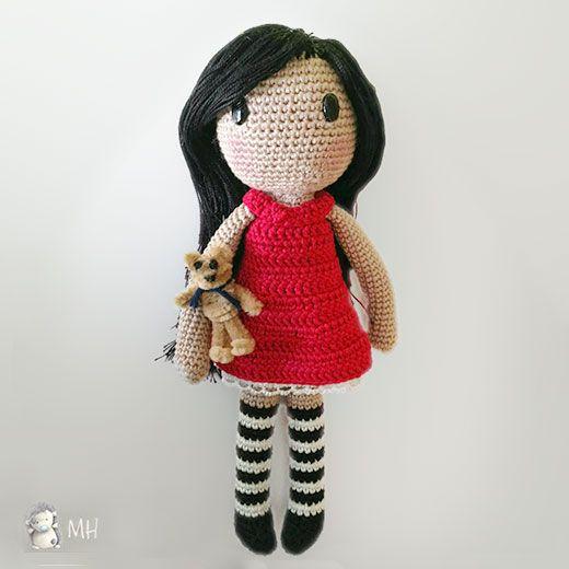 Download Gorjuss Doll Amigurumi Pattern (FREE) | Amigurumi ...