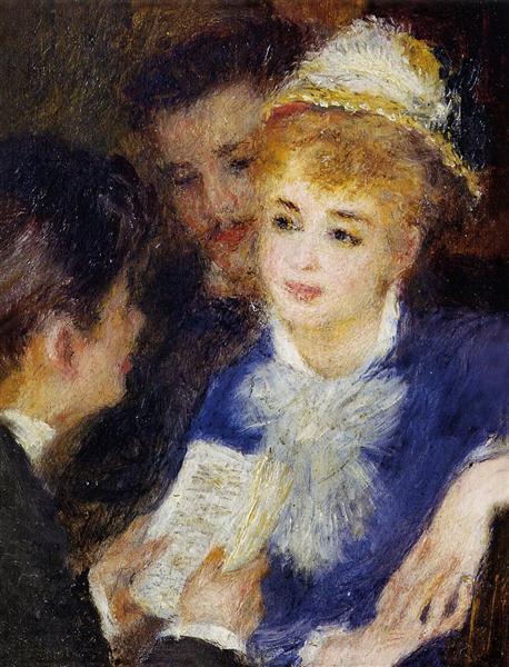 Reading The Part 1874 1876 Pierre Auguste Renoir Peintures Renoir Renoir Pierre Auguste Renoir