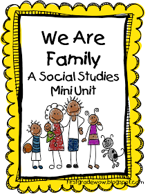 First Grade Wow: Me and My Family | School Ideas