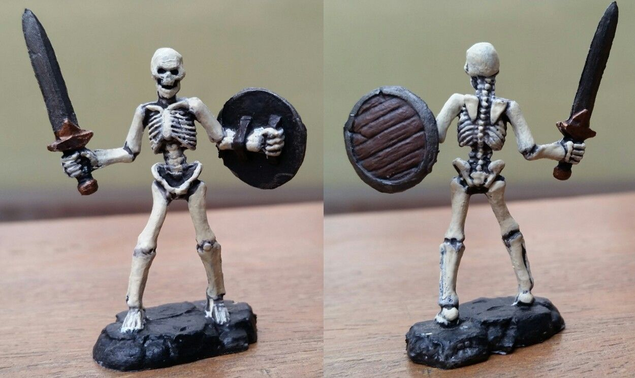 Skeleton Familiar Proxy (Reaper Mini) | My Painted Descent