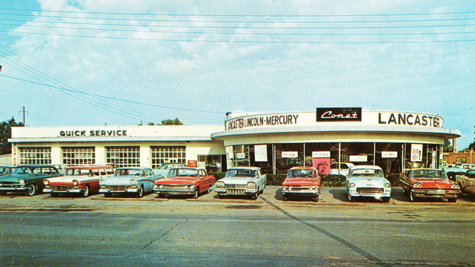 Used Car Dealerships In Lancaster Pa >> 1962 Lancaster Lincoln Mercury Dealership Lancaster