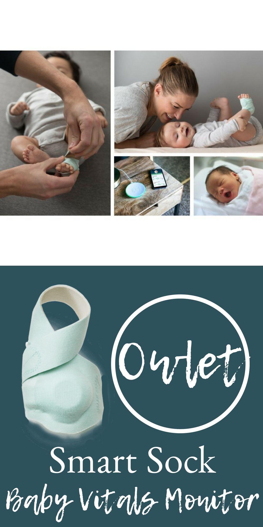 Owlet Baby Sock Vitals Monitor Baby Monitors