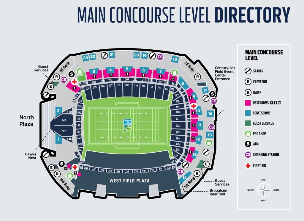 The Awesome As Well As Interesting Centurylink Field Seating Chart Seating Charts Centurylink Field Chart
