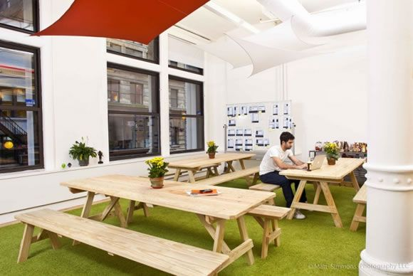Beautiful And Stylish Offices Neat Spaces Pinterest Picnic - Office picnic table