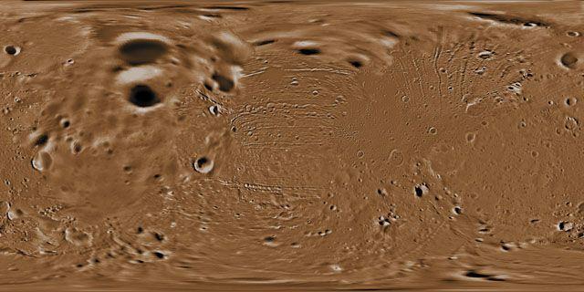 Phobos texture map