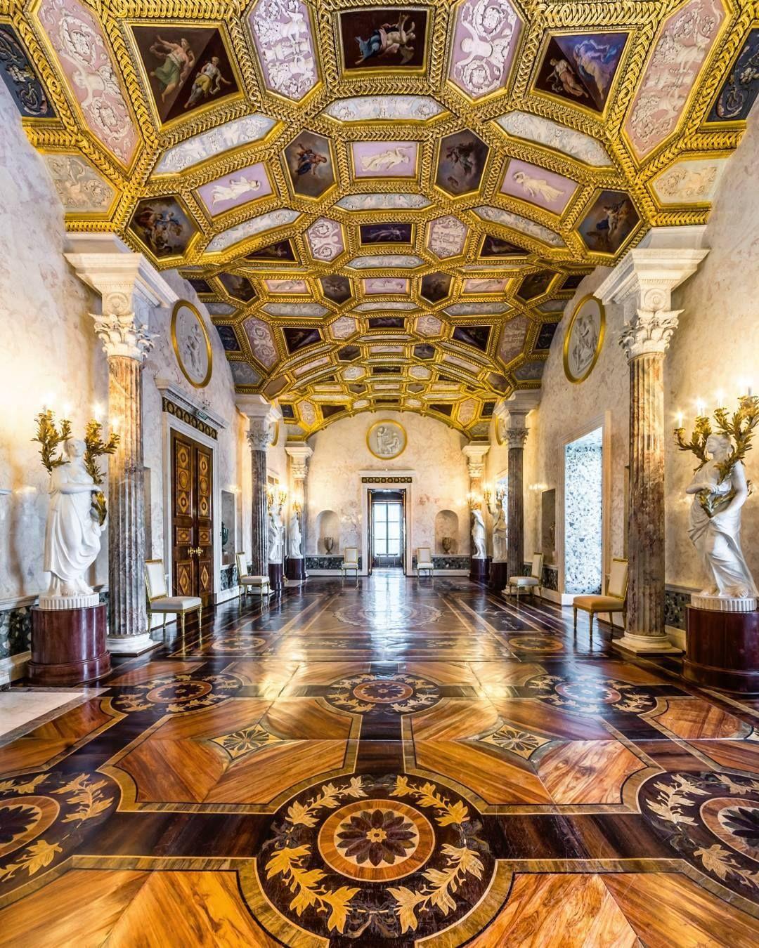 Amazing Interior Design: Agate Rooms Of The Catherine Palace, Pushkin