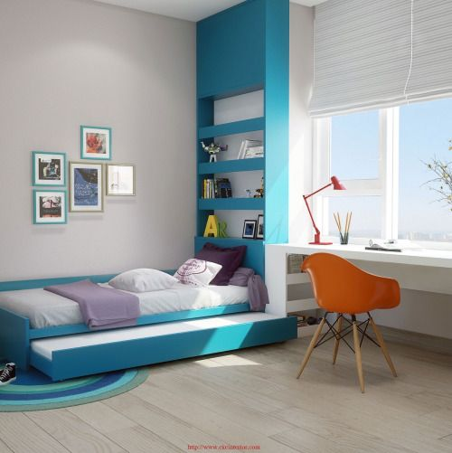 Lovely bedrooms with fabulous furniture and layouts design sticker