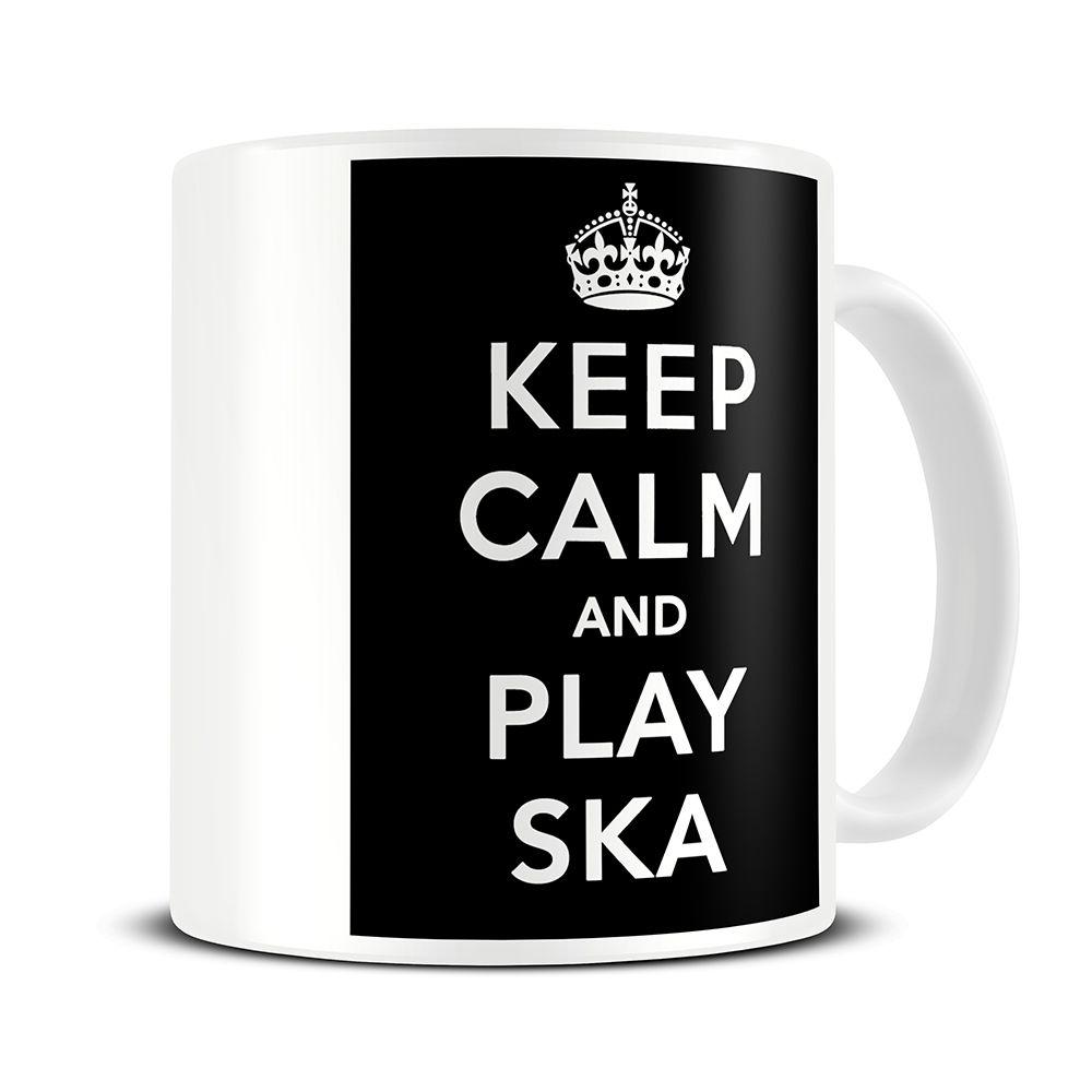 MG047 Magoo Keep Calm and Play Ska Coffee Mug – ska music gifts