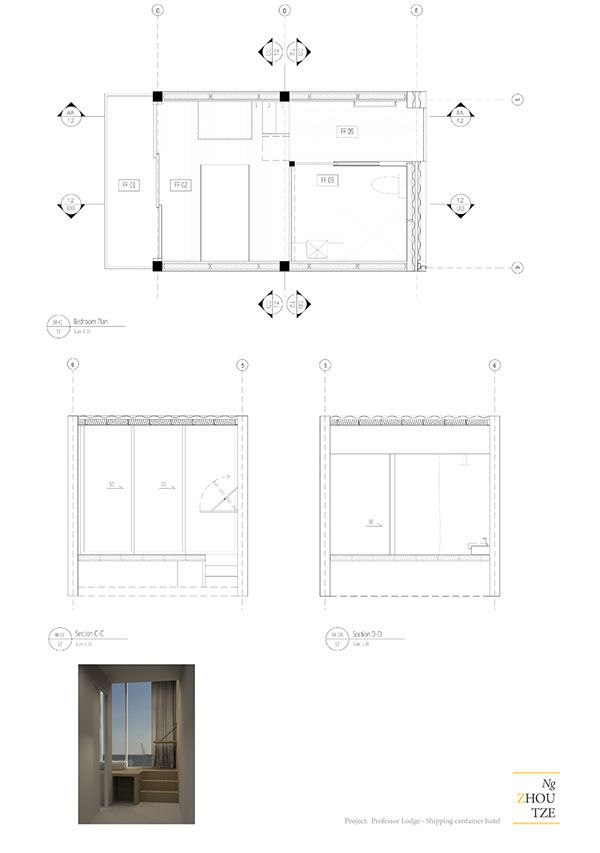 Shipping Container Dwg