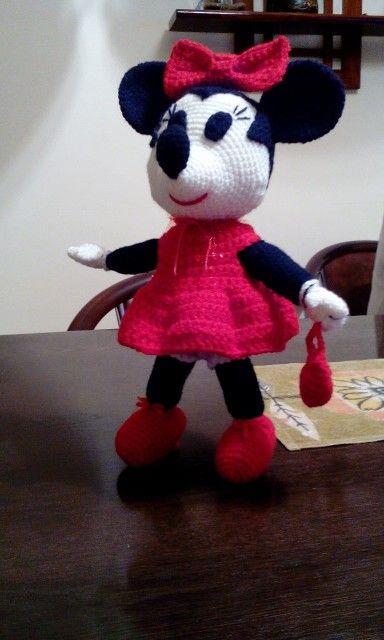 Minnie Mouse amigurumi | amigurumi - jucarii crosetate- my toys ...