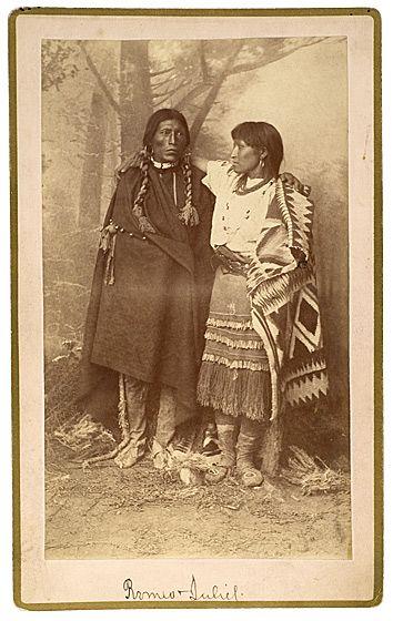 Jicarilla Apache couple - no date Old Photos - Apache | www.American-Tribes.com