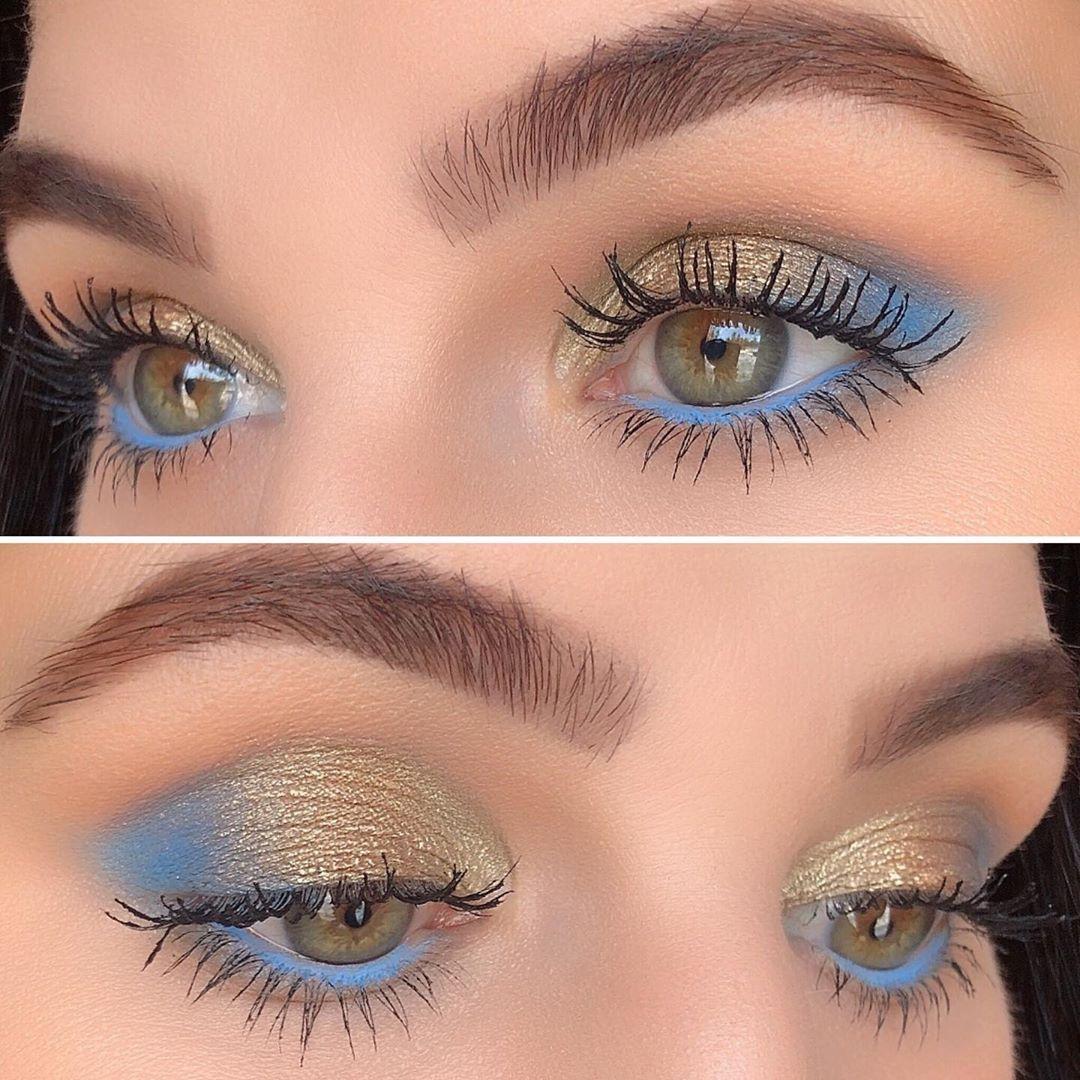 "Photo of @danial_barbier on Instagram: ""@dominiquecosmetics Rustic Glam Eyeshadow Palette  @colourpopcosmetics Creme Gel Pencil Liner Prance @thrivecausemetics Liquid Lash…"""