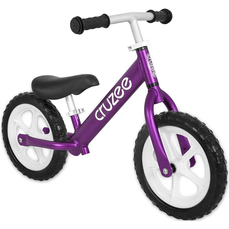 Cruzee Ultralite Balance Bikes All Colors White Wheels