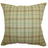 Found it at Wayfair - Adelasia Plaid Cotton Throw Pillow