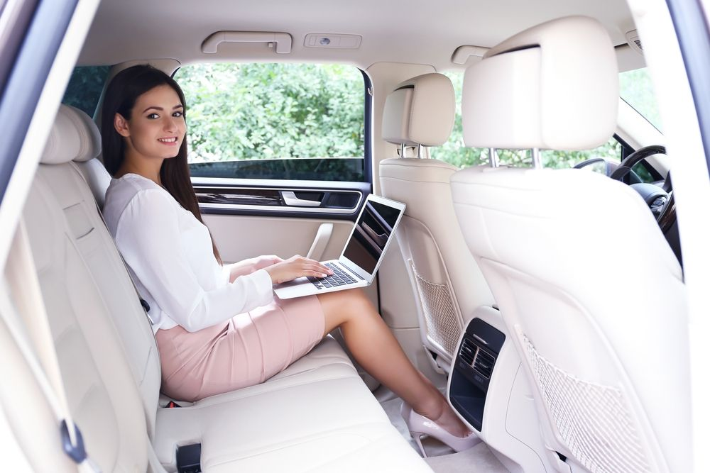 Chauffeur car service for London events. Hire now (With