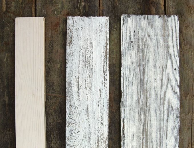 How to Whitewash Wood in 3 Simple Ways   An Ultimate Guide is part of Staining wood, Whitewash wood, White washed floors, Whitewash paint, How to distress wood, Wood - Ultimate guide + video tutorials on how to whitewash wood & create beautiful whitewashed floors, walls and furniture using pine, pallet or reclaimed wood, from elegant farmhouse style to vintage shabby chic, the 3 easy white wash techniques have you covered!
