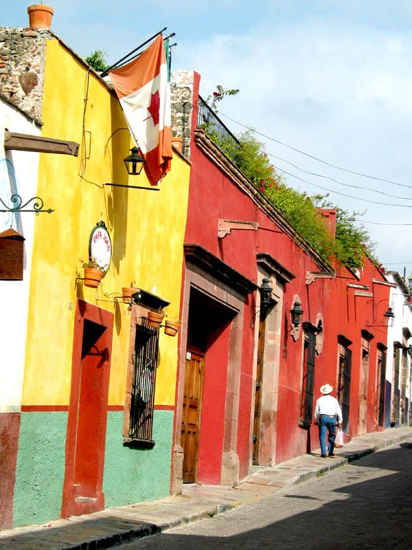 Calle de Jesus, San Miguel de Allende, Guanajuato, Mexico
