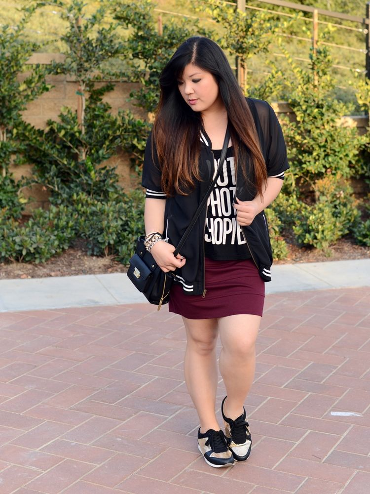Sneaker chic | Curvy Girl Chic | Stylish Curves | Pinterest ...