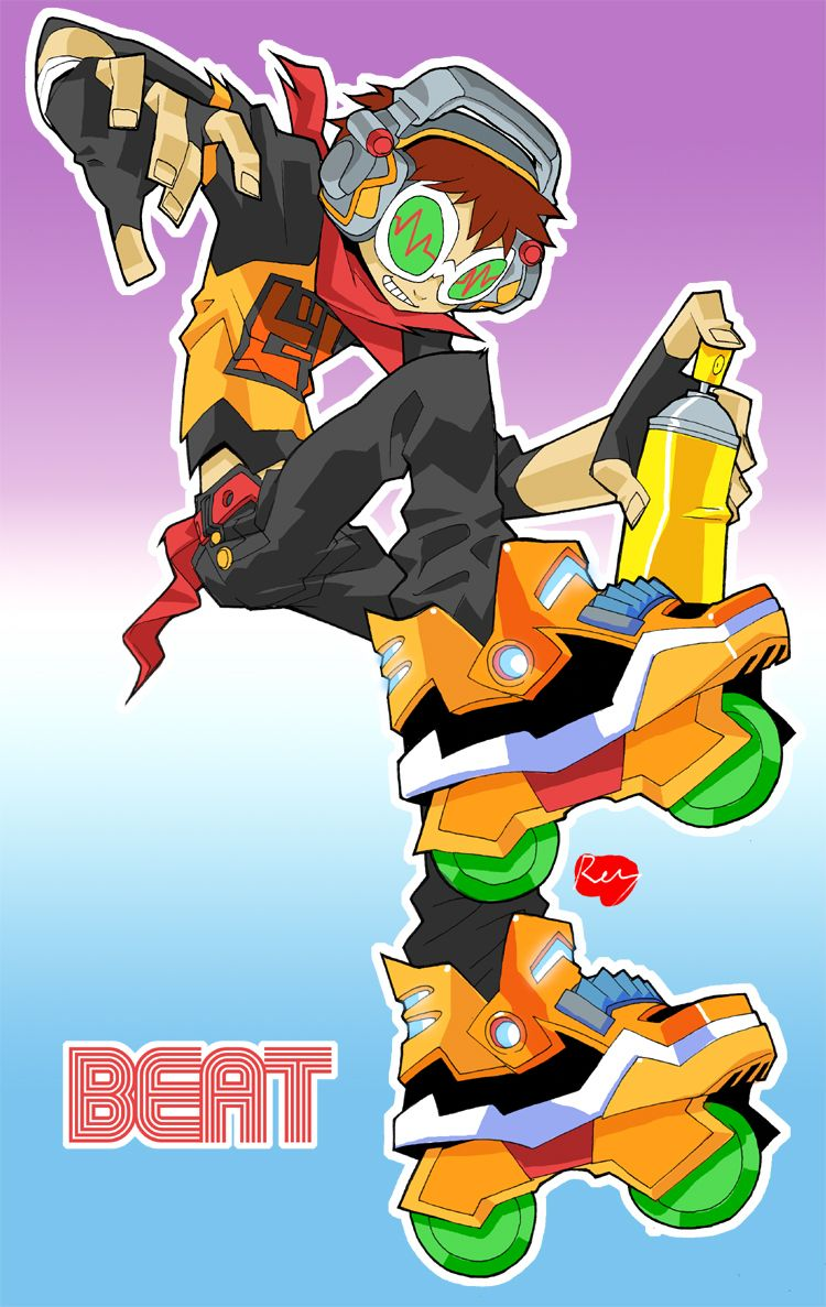 Jet Set Radio Future Beat Jet Set Radio Jet Set Character Design